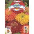 Цинния махровая Цветок Далиды смесь /1,25 г/ *Garden Elite*