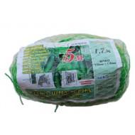 Сетка шпалерная (зеленая) 1,7х5 метров (15х17 см)