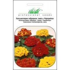 Кальцеолярия Чародейка F2 смесь /0,005 г/ *Профессиональные семена*