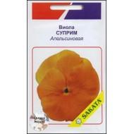 Виола Суприм апельсиновая /10 семян/ *АгроПак*