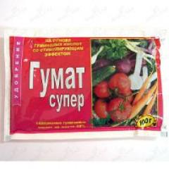 Удобрение Гумат СУПЕР /100 г/ *Биохим-Сервис*