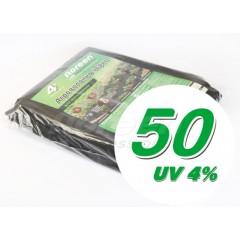 Агроволокно черное, плотность 50 /1,6х5м/ *Agreen*