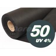 Агроволокно черное, плотность 50 /1,6х50м/ *Agreen*