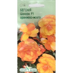 Бегония Шансон F1 оранжево-желтая /10 семян/ *ЭлитСорт*