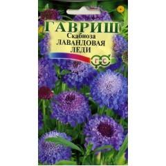 Скабиоза пурпурная Лавандовая леди /0,5 г/ *Гавриш*