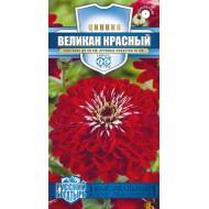 Цинния Великан красный /0,3 г/ *Гавриш*