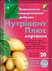 Удобрение Нутривант-Плюс картофель /20 г/ *Нутритех-Украина*