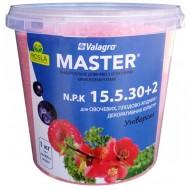 Удобрение МАСТЕР комплексное NPK 15.5.30+2Mg /1 кг/ *Valagro*