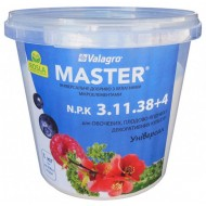 Удобрение МАСТЕР комплексное NPK 3.11.38+4 /1 кг/ *Valagro*