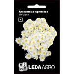 Хризантема карликовая Белые звезды /0,2 г/ *LedaAgro*