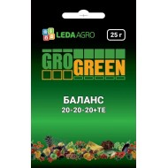Удобрение Баланс NPK 20-20-20 /25 г/ *Gro Green*
