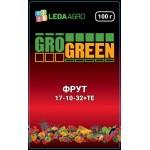 Удобрение Фрут NPK 17-10-32 /100 г/ *Gro Green*