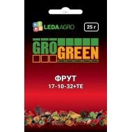 Удобрение Фрут NPK 17-10-32 /25 г/ *Gro Green*