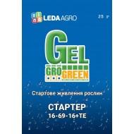 Удобрение-гель Стартер NPK 16-69-16+ТЕ /25 г/ *Gro Green*