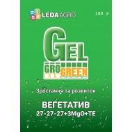 Удобрение-гель Вегетатив NPK 27-27-27+3MgO+TE /100 г/ *Gro Green*