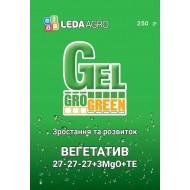 Удобрение-гель Вегетатив NPK 27-27-27+3MgO+TE /250 г/ *Gro Green*