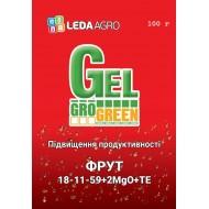 Удобрение-гель Фрут NPK 18-11-59+2MgO+TE /100 г/ *Gro Green*