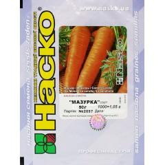 Морковь Мазурка /50 г/ *Наско*