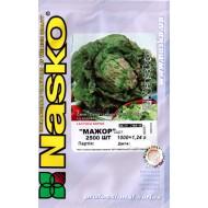 Салат полукочанный Мажор /2.500 семян/ *Наско*