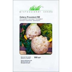 Сельдерей корневой Президент /500 семян/ *Профессиональные семена*