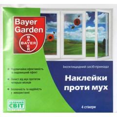 Инсектицид Наклейки против мух /4 шт/ *Bayer*
