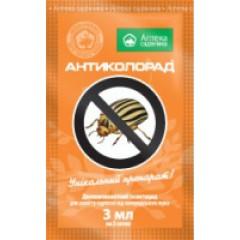 Инсектицид Антиколорад /3 мл/ *Укравит*