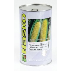 Кукуруза сахарная Nasko Zea 75/26 F1 /4.500 семян/ *Наско*