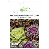 Капуста декоративная Нагойя F1 смесь /20 семян/ *Профессиональные семена*