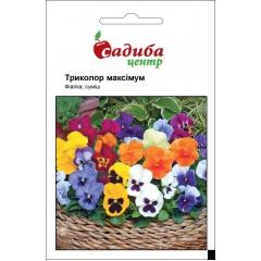 Виола Триколор Максимум F2 смесь /0,05 г/ *Садыба Центр*
