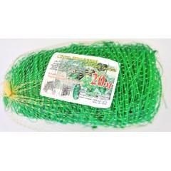 Сетка шпалерная (зеленая) 1,7х20 метров (15х17 см)