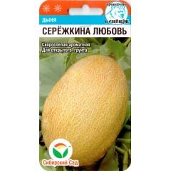 Дыня Сережкина любовь /5 семян/ *СибСад*