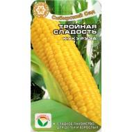 Кукуруза сахарная Тройная сладость /10 семян/ *СибСад*