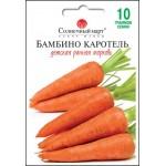 Морковь Бамбино каротель /10 г/ *Солнечный Март*