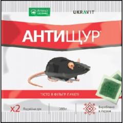 Родентицид Антищур /200 г тестоподобная приманка/ *Укравит*