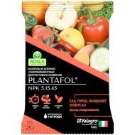 Удобрение ПЛАНТАФОЛ для сада, огорода, ландшафта. Завязь и плодоношение /25 г/ *Valagro*